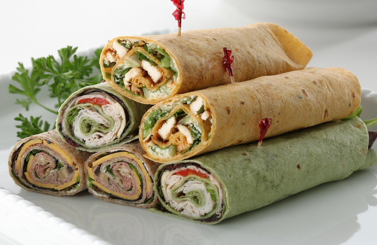 Make Ahead Picnic Wraps for the OpenRoad