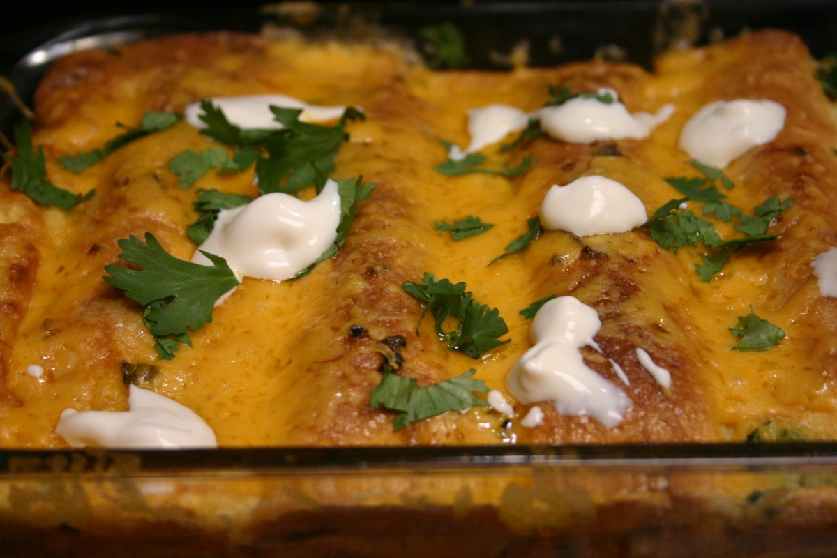 Start Your Day with Sunrise Sausage Enchiladas