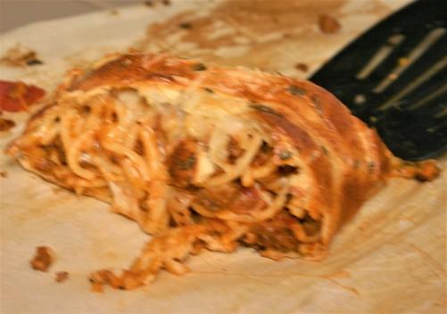 Braided Spaghetti Stromboli (10)