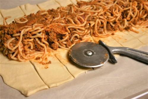 Braided Spaghetti Stromboli (2)