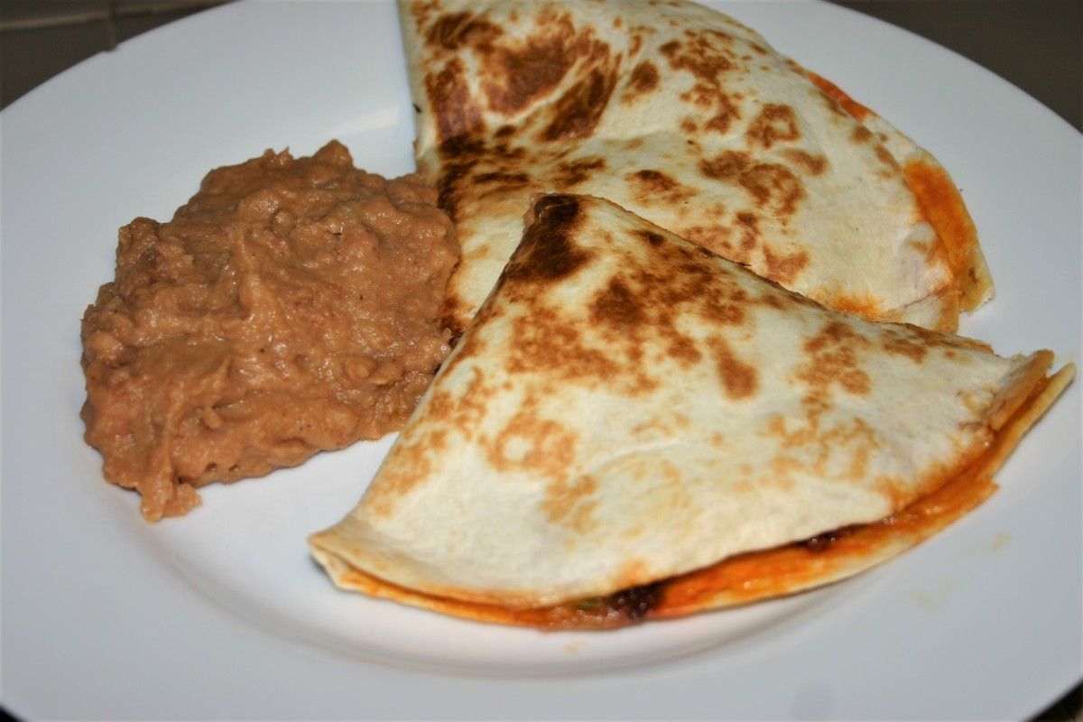 Sizzling Hot Chorizo Quesadillas