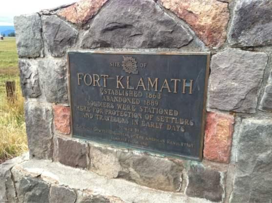 fort marker