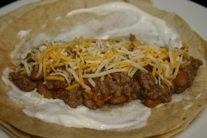 Ro-Tel Spicy Burritos (5)