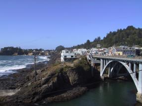 View of Depoe Bay from the Channel House Inn. Chris Wille/The Spokesman-Review.