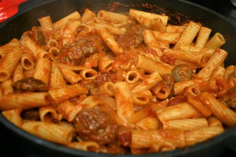 Italian Sausage Mini Bells Pasta (12)
