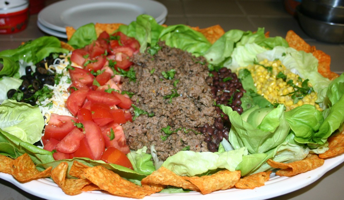 The Beauty of a Mexican Cobb TacoSalad