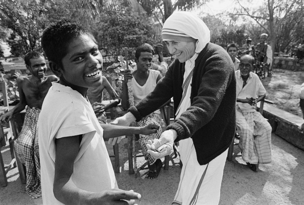 Mother Teresa and a HumblePie