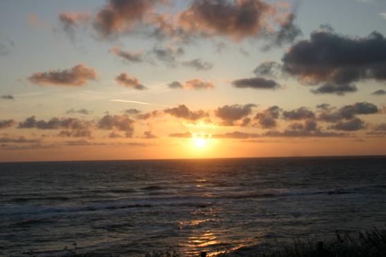 Sun setting at Depoe Bay (10)