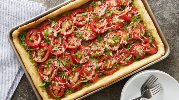 Tomato Slab Pie