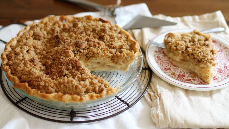 Cheater's Dutch Apple Pie