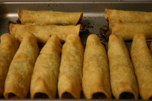 Ground Beef Taquitos (12)