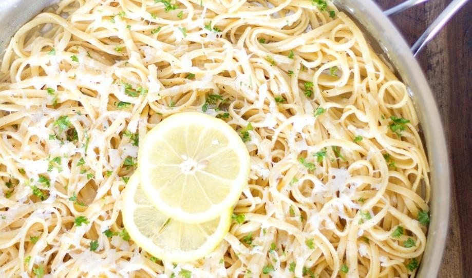 National Linguine Day and Lemony ParmesanLinguine