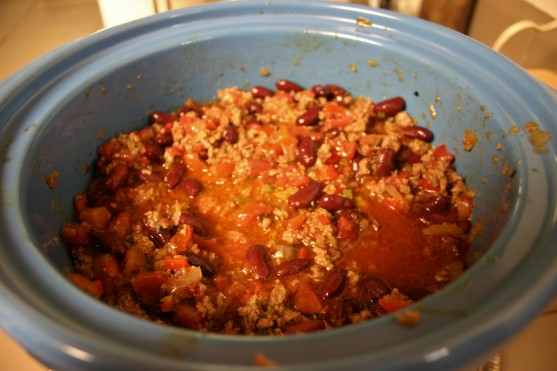 Slow Cooker Beefy Kidney Bean Chili (6)