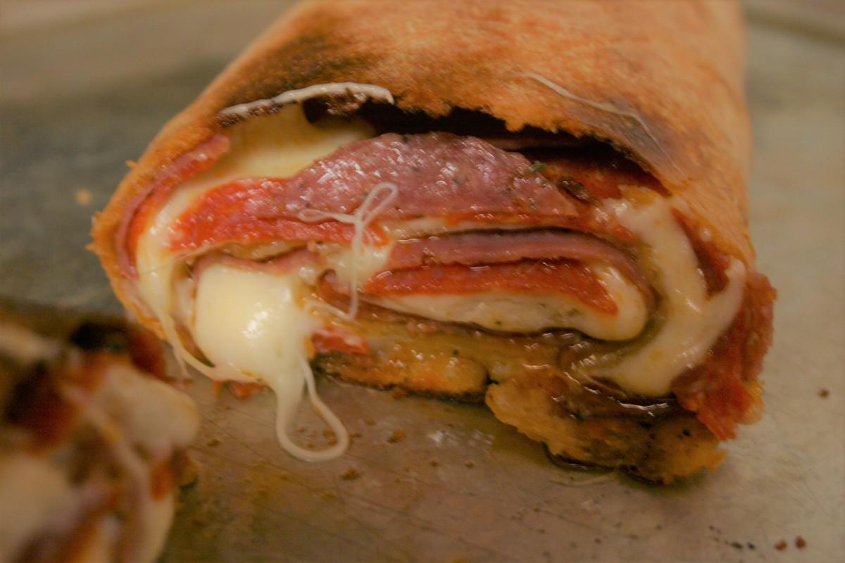 Swirling Pizza Roll forFun
