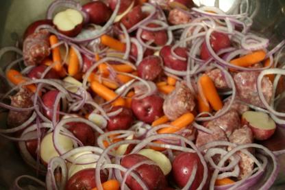 Bratwurst Vegetable Supper (5)