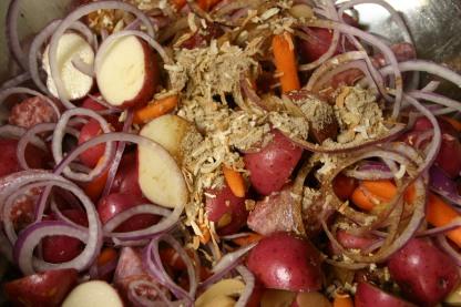 Bratwurst Vegetable Supper (6)