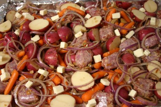 Bratwurst Vegetable Supper (8)