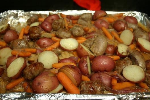 Bratwurst Vegetable Supper (9)