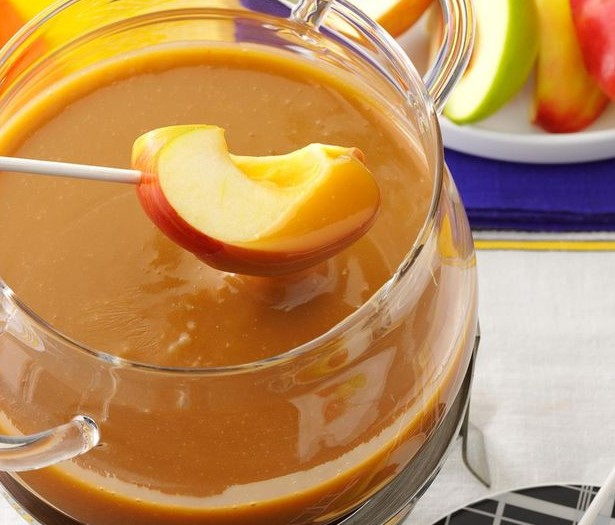 National Caramel Apple Day and Caramel Apple Fondue