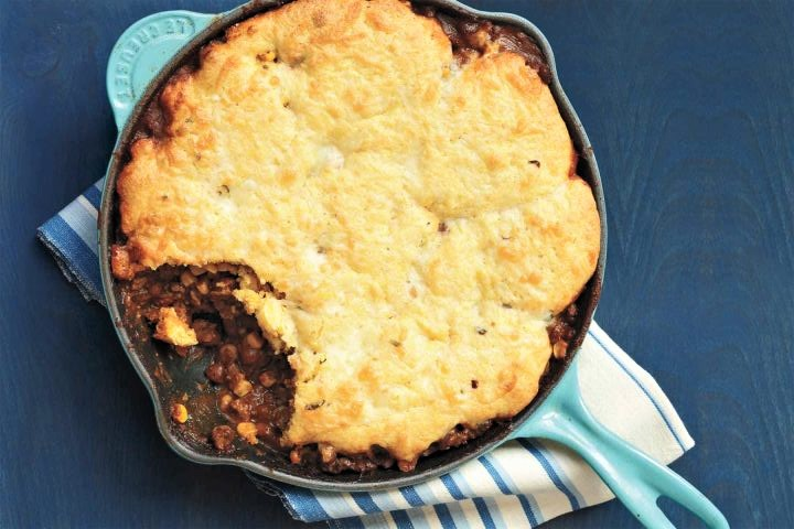 Cornbread and Beef Skillet Pie – Oh My!