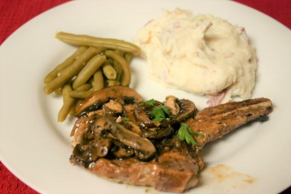 Mushroom Pork Chop Marsala (3)