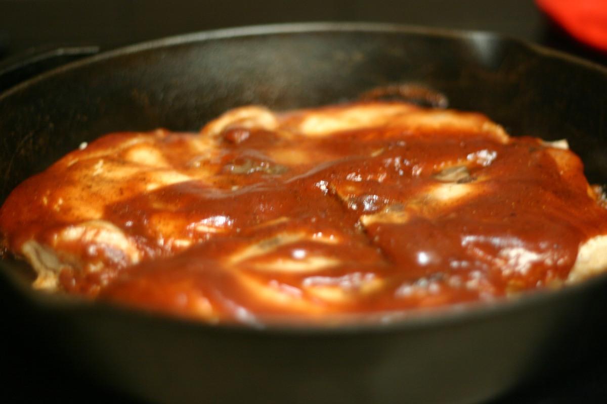 Skillet Oven-Barbecued PorkChops