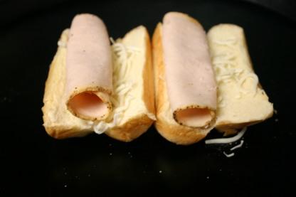 French Brioche Chicken Club Sandwich Rolls (4)