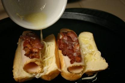 French Brioche Chicken Club Sandwich Rolls (6)