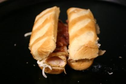 French Brioche Chicken Club Sandwich Rolls (7)