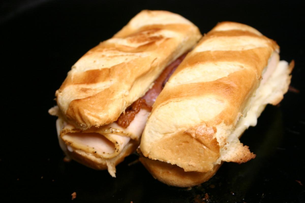 Toasted Brioche Chicken ClubSandwich
