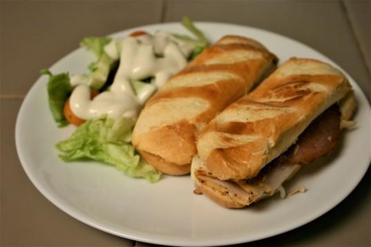 French Brioche Chicken Club Sandwich Rolls (9)