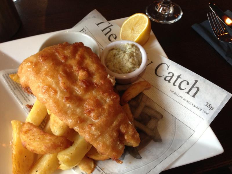 The Story of Fish and Chips From Across thePond