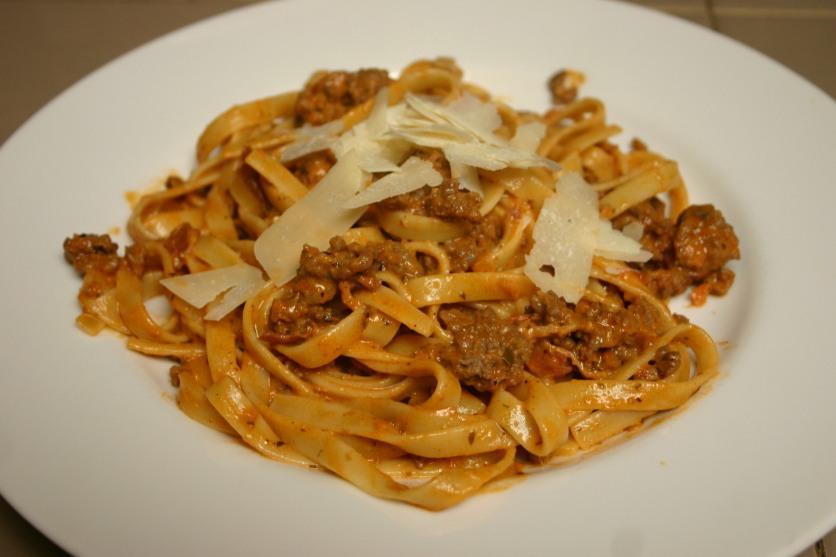 Panchetta Bolognese Fettuccine (17)