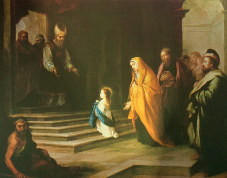 Feast of the Presentation of Mary