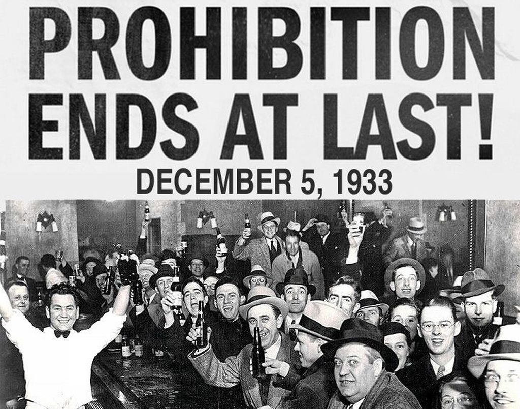 A Toast to The End of Prohibition