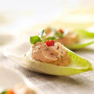 (1) Salmon Mousse Endives