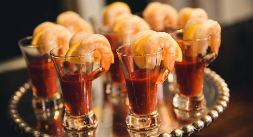 (1) Shrimp Cocktail Shooters