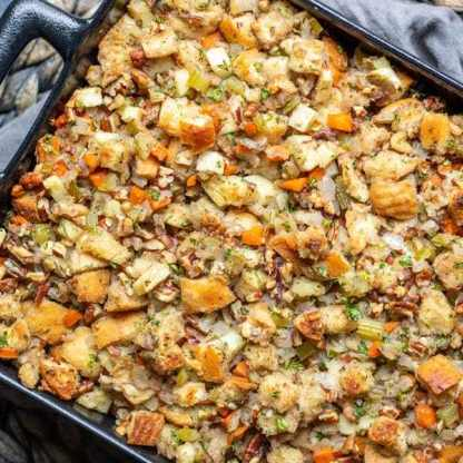 2 Apple Pecan Stuffing