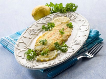 2 Baked Dover Sole