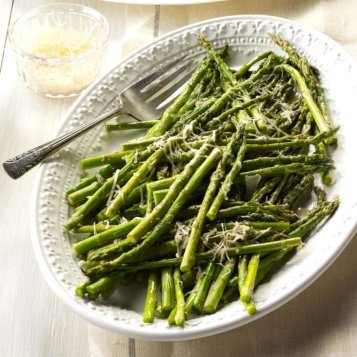 2 Parmesan Asparagus