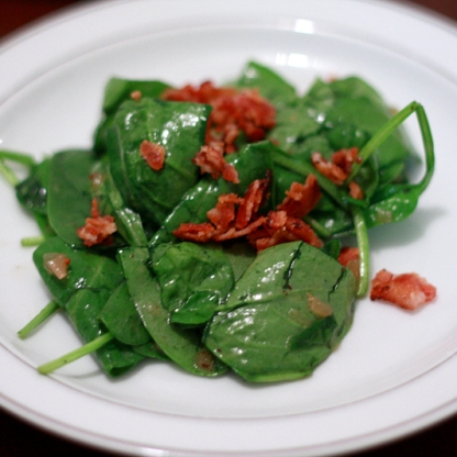 4 Southern Spinach Salad