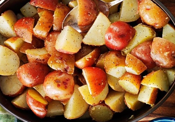Garlicky Browned Butter RedPotatoes