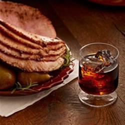Kahlua Glazed Ham