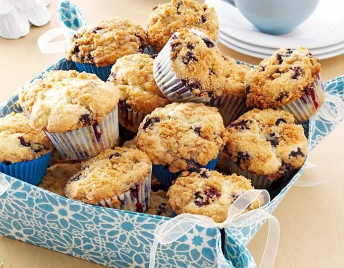 An Immaculate Day for BlueberryMuffins