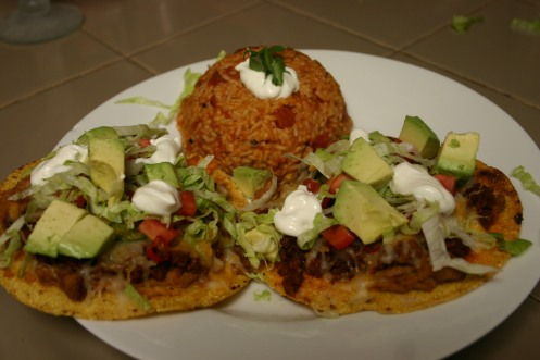 Two Meat Tostadas (6)