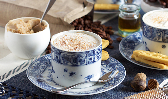 Hot Buttered Rum with Coffee