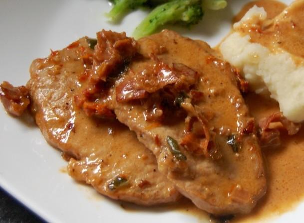 Prosciutto Pork Chops