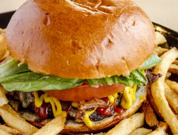Casual Mondays and a ClassicHamburger