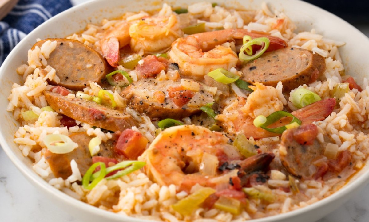 Andouille Cajun Sausage and Shrimp Gumbo