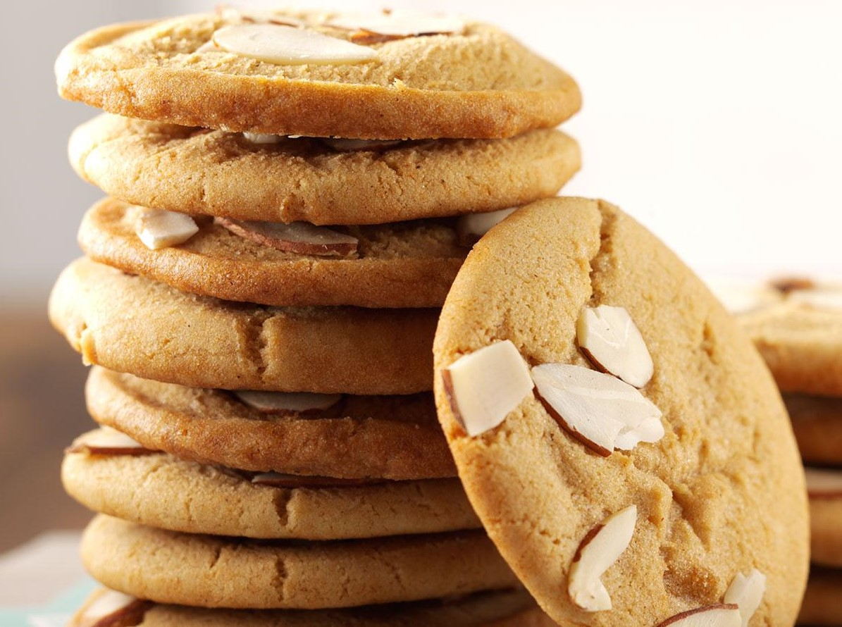 National Almond Day and Chewy Cookies
